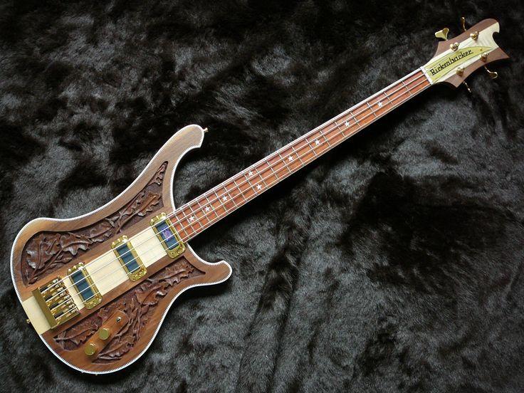 Как создавались гитары Rickenbacker